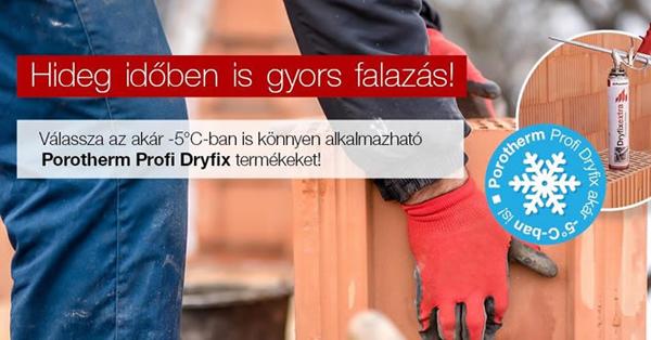 A Porotherm Profi Dryfix rendszerről
