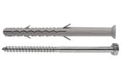 Állványrögzítő hosszú dübel hlf.spec.csavarral 10x160 mm (25db/doboz)