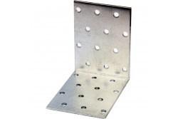 Perforált sarokösszekötő 80x80x60 mm lv: 2 mm (50 db/doboz)
