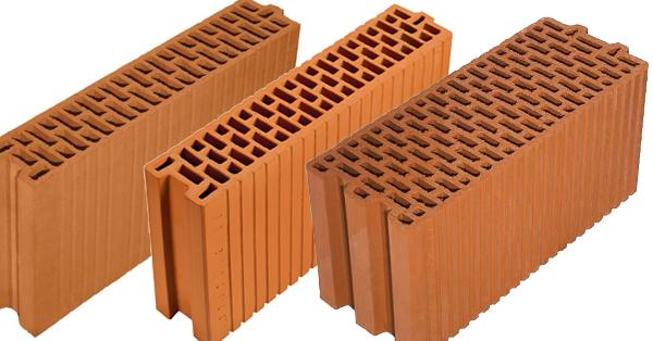 Porotherm téglák belső térelhatároló falak építéséhez
