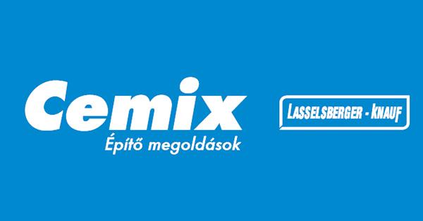 Cemix néven folytatja a Lasselsberger-Knauf - Csak a név változik!