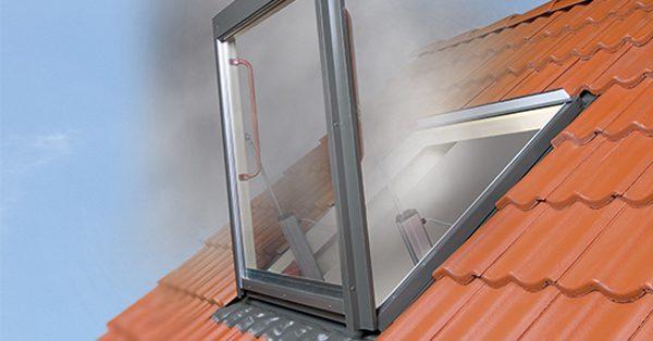 FAKRO füstelvezető ablakok