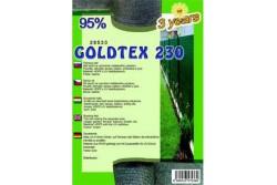 Árnyékoló háló GOLDTEX230 1,5x50 m zöld 95%
